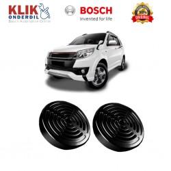 Bosch Klakson Mobil Mitsubishi L300 Europa Grill Disc Black 12V - Set - Black - (0320223910)