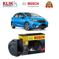 Bosch Klakson Mobil Toyota Kijang Innova H3F Digital Fanfare (Keong) Black 12V - Set - Hitam (0986AH0601)
