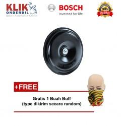 Bosch Klakson Motor Piccolo Disc 12V Black Single - Free Buff
