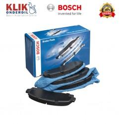 Bosch Kampas Rem Depan u/ Mobil Toyota Fortuner (Set) - Distributor Brake Pad Mobil Terbaik di Jual dg Harga Murah