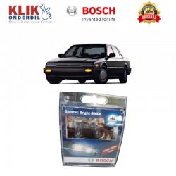 Bosch Sepasang Lampu Mobil Honda Accord 88 Low Beam Sportec Bright H4 12V 60/55W P43t (Putih) (2 Pcs/Set) - 1987304057