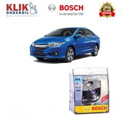 Bosch Sepasang Lampu Mobil Honda City Low Beam All Weather Plus H4 12V 60/55W P43t (2 Pcs/Set) - 1987304030