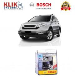 Bosch Sepasang Lampu Mobil Honda CR-V Low Beam All Weather Plus H4 12V 60/55W P43t (2 Pcs/Set) - 1987304030