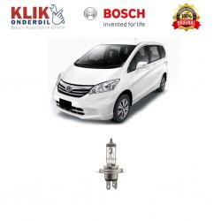 Bosch Lampu Mobil Honda Freed Low Beam Standard Car H4 12V 60W/55W P43t (1 Pcs) - 0986AL1513 - 1 Buah