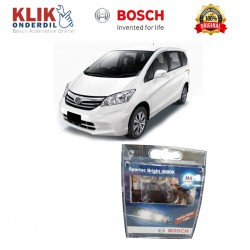 Bosch Sepasang Lampu Mobil Honda Freed Low Beam Sportec Bright H4 12V 60/55W P43t (Putih) (2 Pcs/Set) - 1987304057