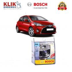Bosch Sepasang Lampu Mobil Toyota Yaris Low Beam All Weather Plus H4 12V 60/55W P43t (2 Pcs/Set) - 1987304030