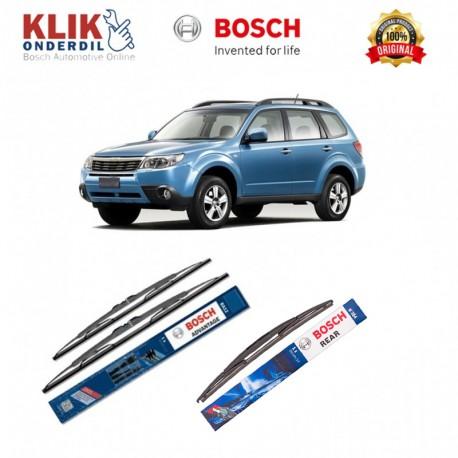 """Bosch Wiper Depan & Belakang Mobil Honda Sportage Set (Advantage 24"""" & 14"""") + H354 14"""" - 3 Buah - Tahan Lama dg Harga Murah"""