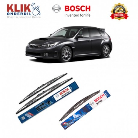"Bosch Wiper Depan & Belakang Mobil Subaru Forester S12 Set (Advantage 24"" & 18"") + H354 14"" - 3 Buah - Tahan Lama dg Harga Murah"