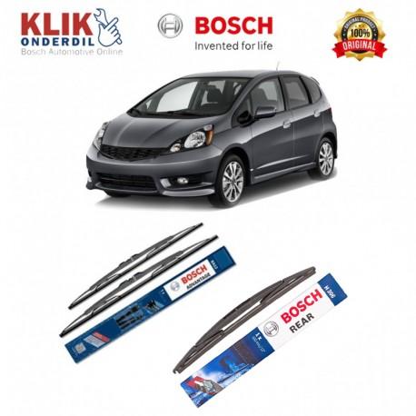 """Bosch Wiper Depan & Belakang Mobil Honda CRV 3rd Gen Set (Advantage 26"""" & 17"""") + H306 12"""" - 3 Buah - Tahan Lama dg Harga Murah"""